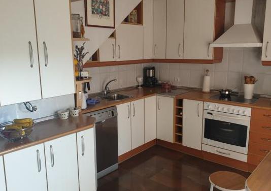 Muebles de cocina, vitro, horno, campana y caldera