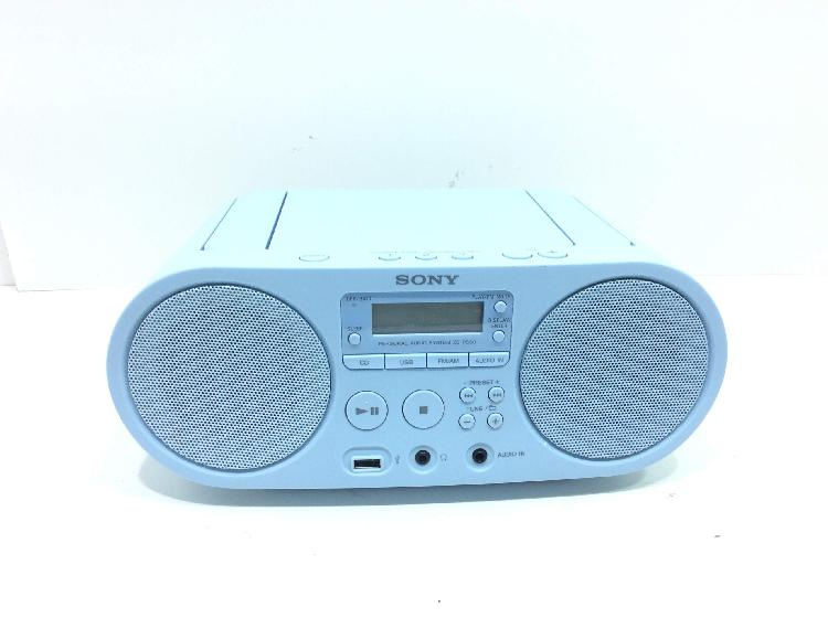 Radio cd cassette sony zs-ps50