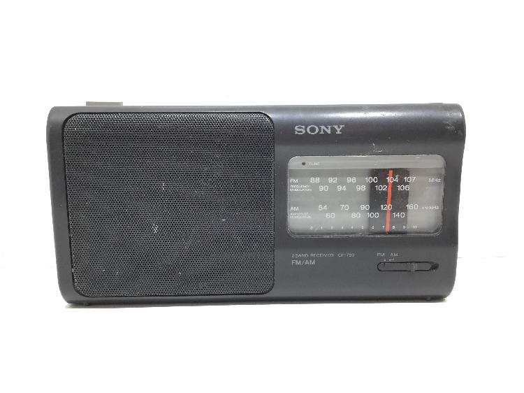 Radio portatil sony icf-780