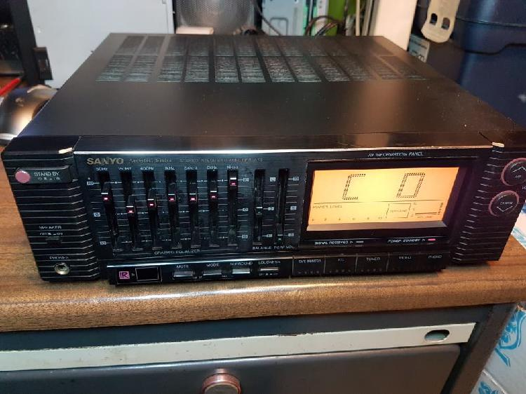 Amplificador de audio hi-fi sanyo