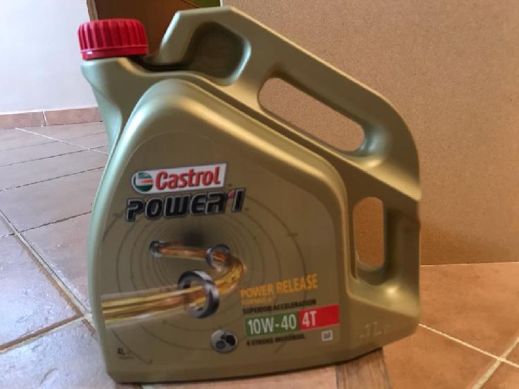 Aceite motos castrol power 1 10w 40 4t