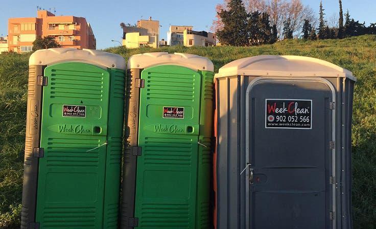 Alquiler de wc ecologicos portatiles baños
