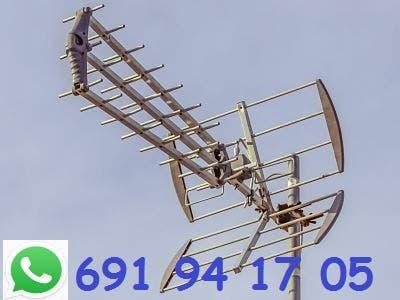 Antenista, averías, reparación, instalación.