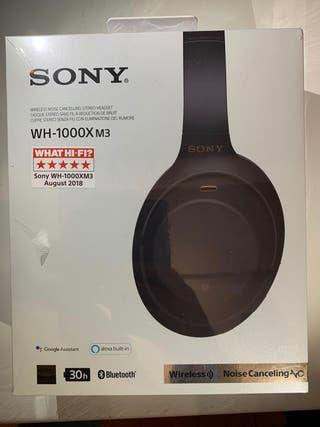 Auriculares sony wh-1000xm3b