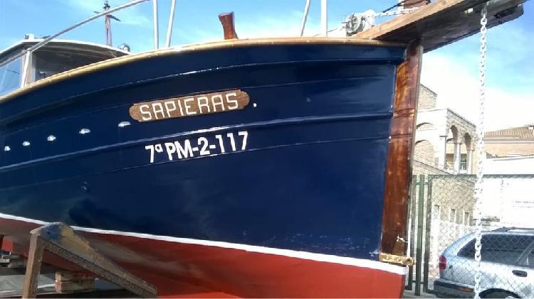 Barca llaud mallorquin en venta
