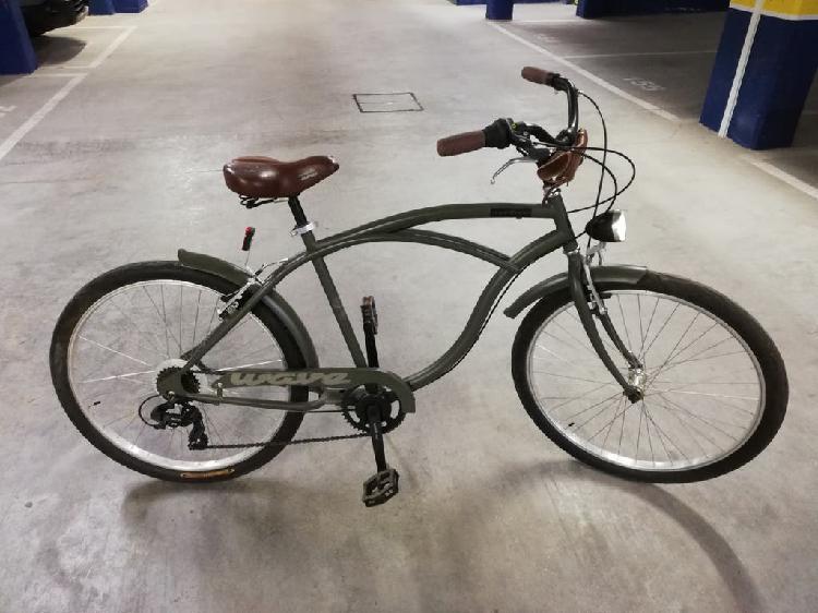 Bicicleta de paseo cruiser