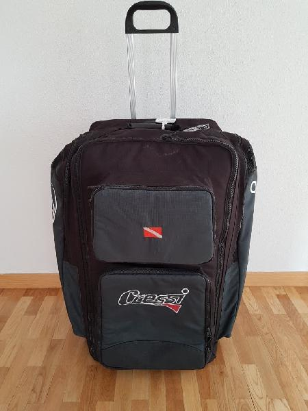 Bolsa de viaje de buceo cressi con ruedas
