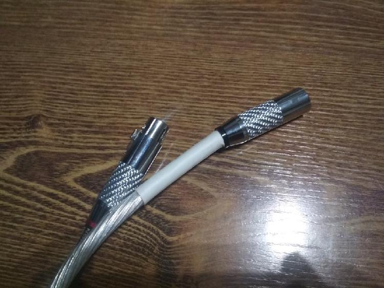 Cable audio xlr 2m.