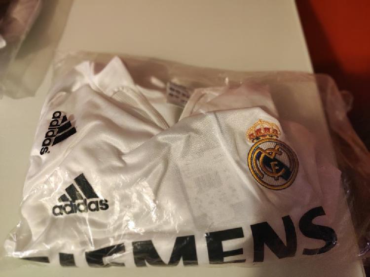 Camiseta adidas real madrid 2004 futbol retro