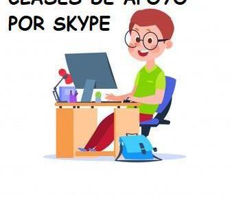 Clases de apoyo escolar por skype para toda españa