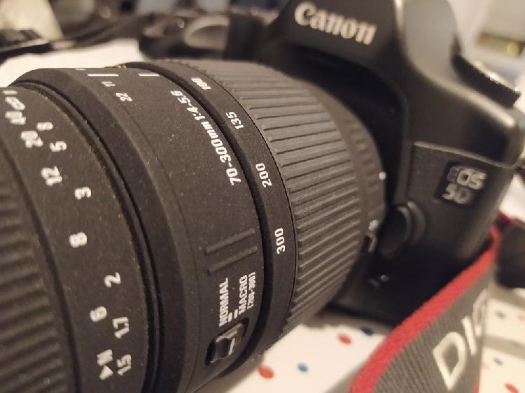 Canon Eos 5D + 70-300mm