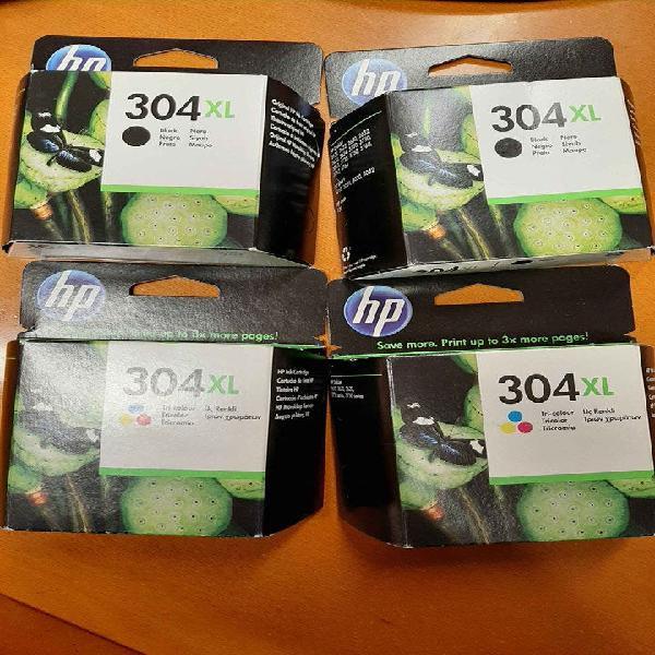 Cartuchos tinta hp 304 xl