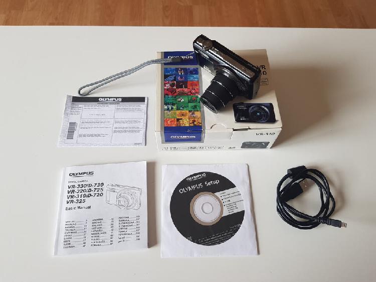 Cámara de fotos compacta olympus vr-310 hd