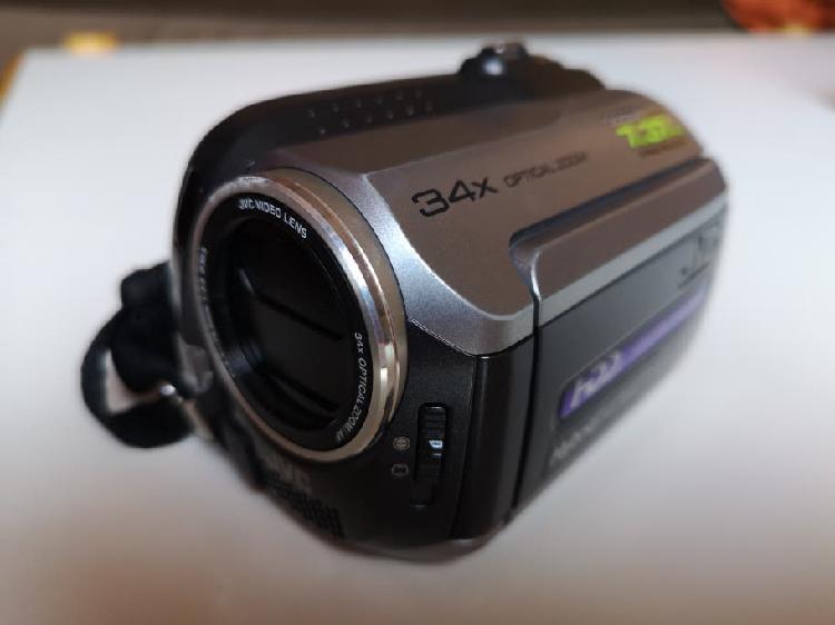 Cámara video jvc everio hybrid,