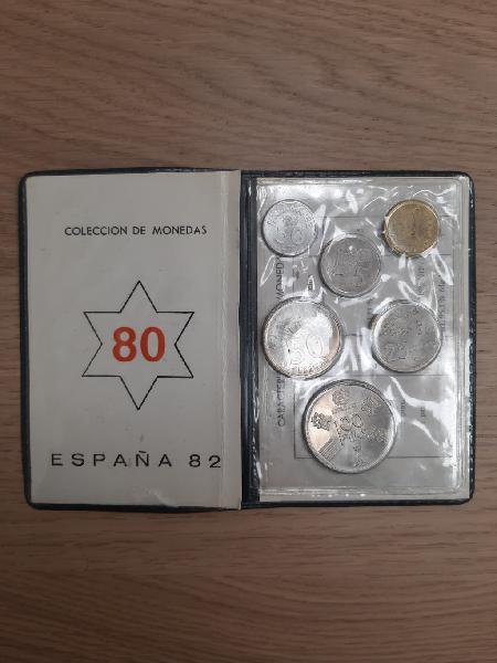Colección de monedas españa 82 629212996