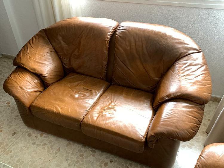 Conjunto de sofás de piel granfort