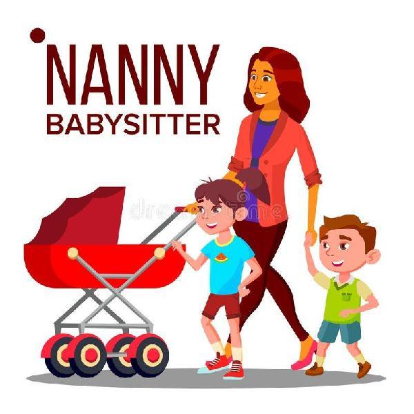 Cuidadora/babysitter/niñera/canguro