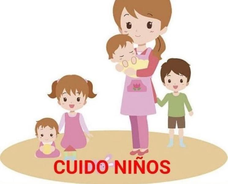 Cuido niños con mucha responsabilidad