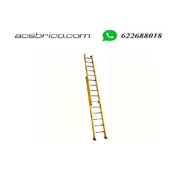 Escaleras fibra 2 tramos electricistas-telecom