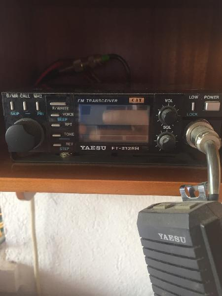 Emisora yaesu ft 212 rh