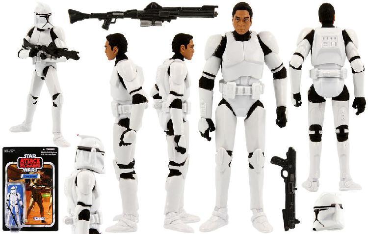 Figura star wars vintage collection clone trooper