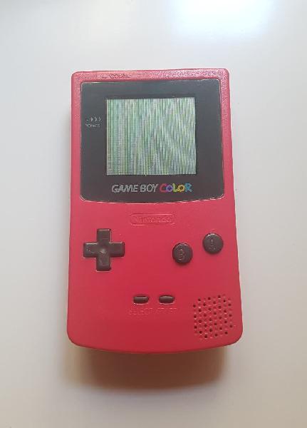 Game boy color rosa