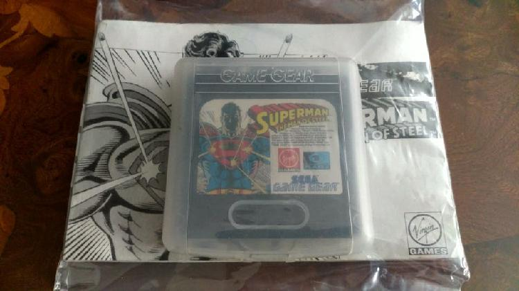 Game gear superman the man of steel
