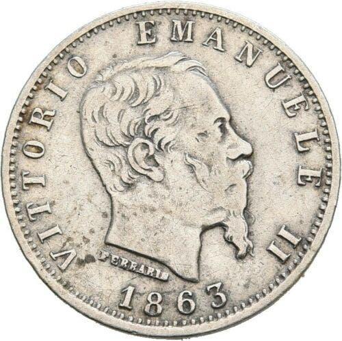 Italia, v. emanuele ii, 20 ctv. 1863 - plata