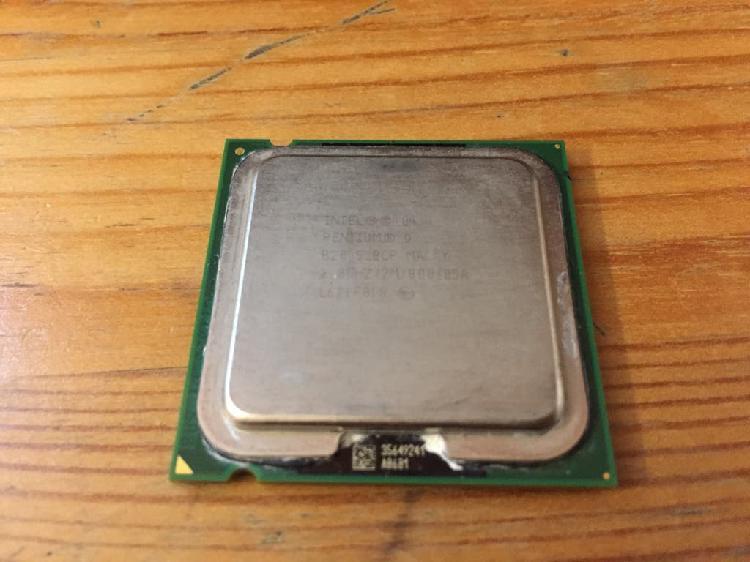Intel pentium d 820 2.8 ghz dual core 775