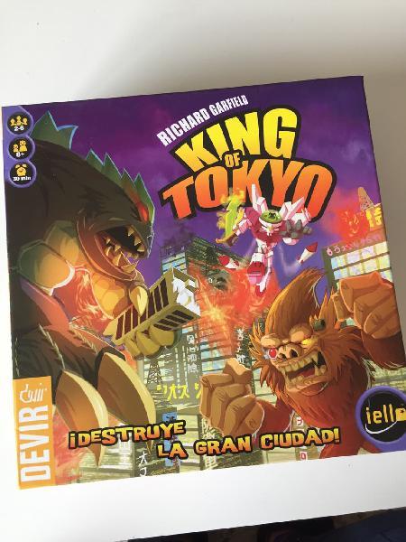 """Juego mesa """"king of tokio"""" y """"sushi go!"""""""