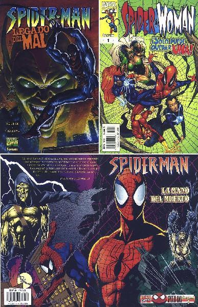 Lote comics spiderman