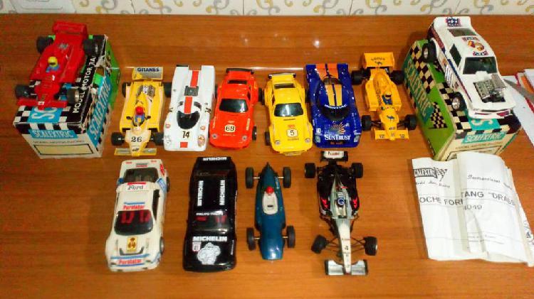 Lote de coches de scalextric segun fotos