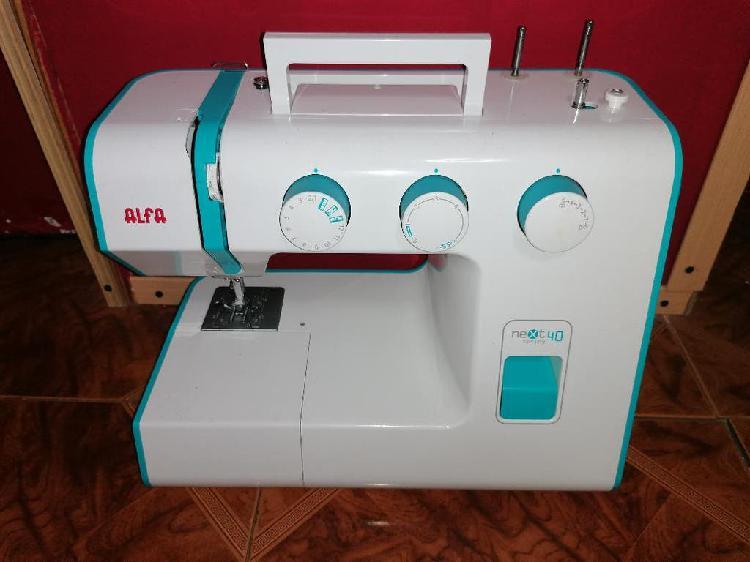 Maquina coser alfa next 40 spring