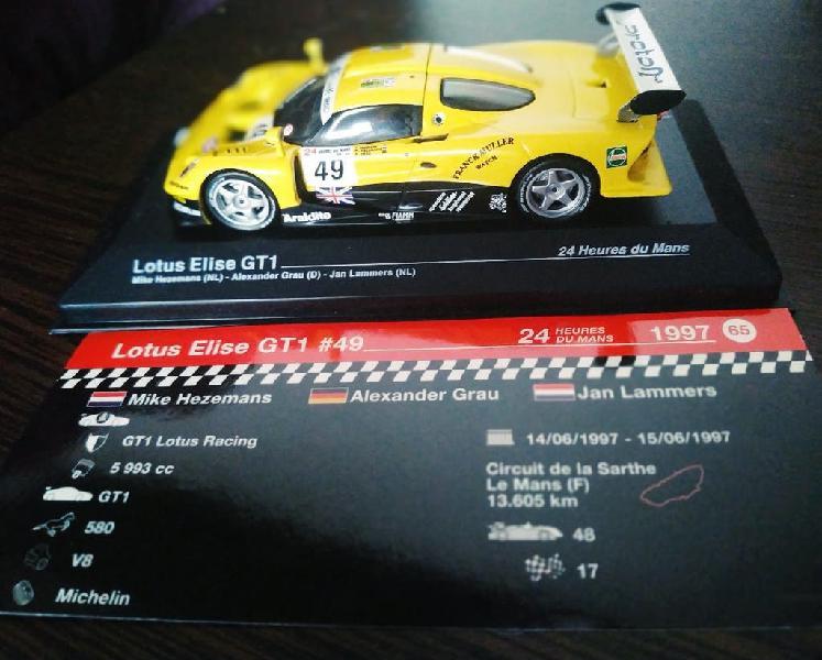 Maqueta coche lotus elise gt1