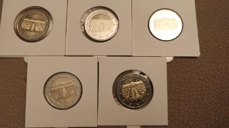 Moneda conmemorativa 2€ alemania 2020