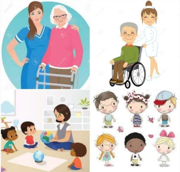 Niñera, limpieza del hogar,cuidado de ancianos