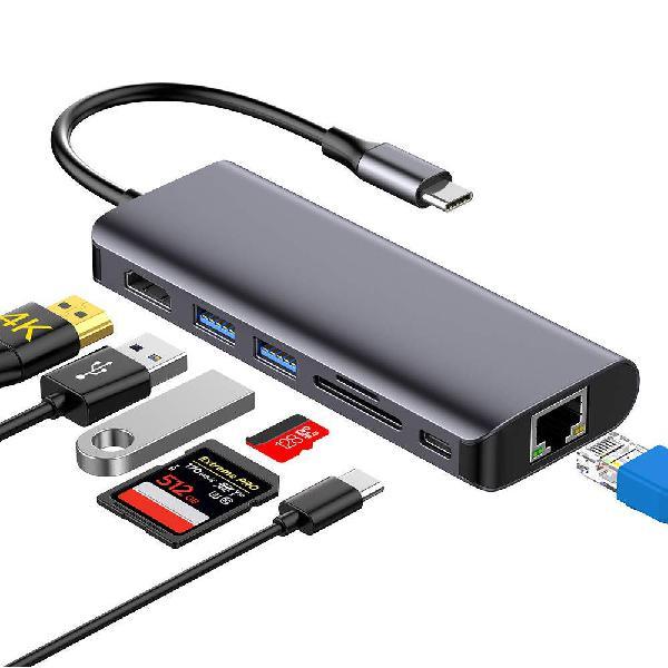 NUEVO - Hub USB C 7 en 1, Tipo C