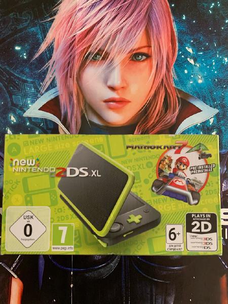 Nintendo new 2ds xl nueva
