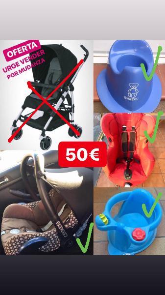 Oferta! equipamiento para bebé