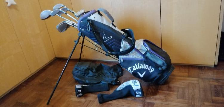 Palos de golf callaway 9-11 años zurdas