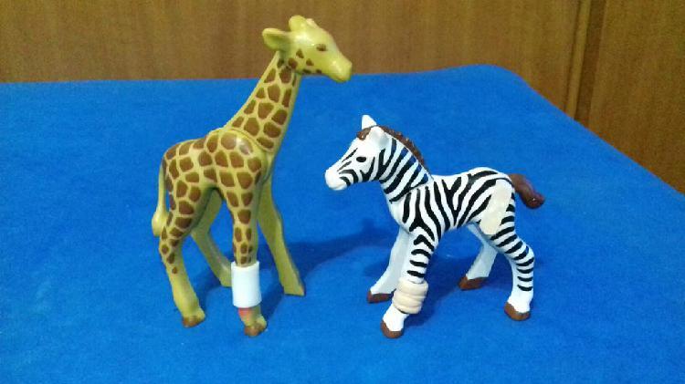 Playmobil animales heridos