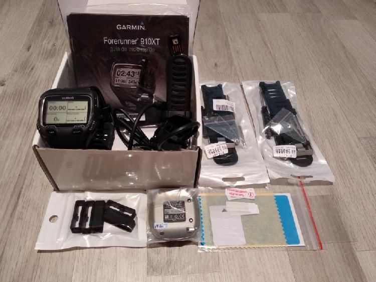 Pulsómetro garmin forerunner 910xt + accesorios