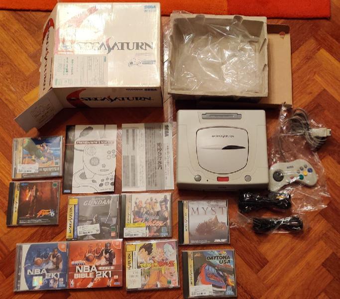Sega saturn jap con juegos