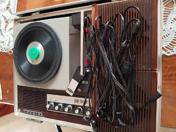Tocadiscos retro años 60s
