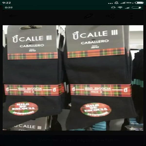 Calcetines de hilo de escocia alta calidad