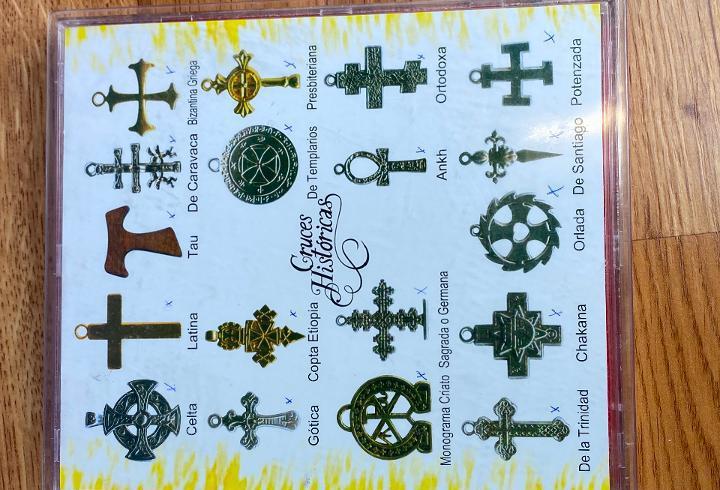 Coleccion de 18 cruces historicas - completa