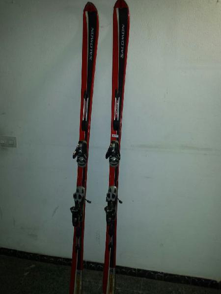Esquís salomon prolink superaxe equipe 2v