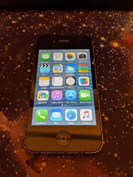 Iphone 4s negro 16gb