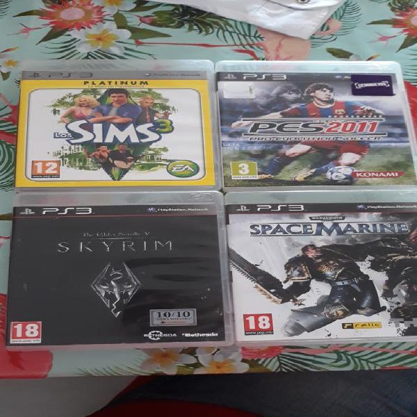 Lote juegos ps3