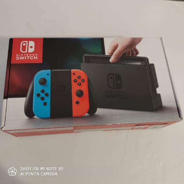 Nintendo switch con muchos juegos